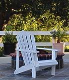 Shine Company Westport Adirondack Chair, White