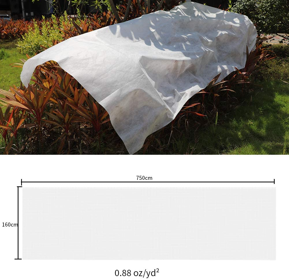 BELUPAI Plant Cover for Frost Protection Garden Plant Floating Row Cover Fabric Plant Cover Outdoor Frost Protection Blanket