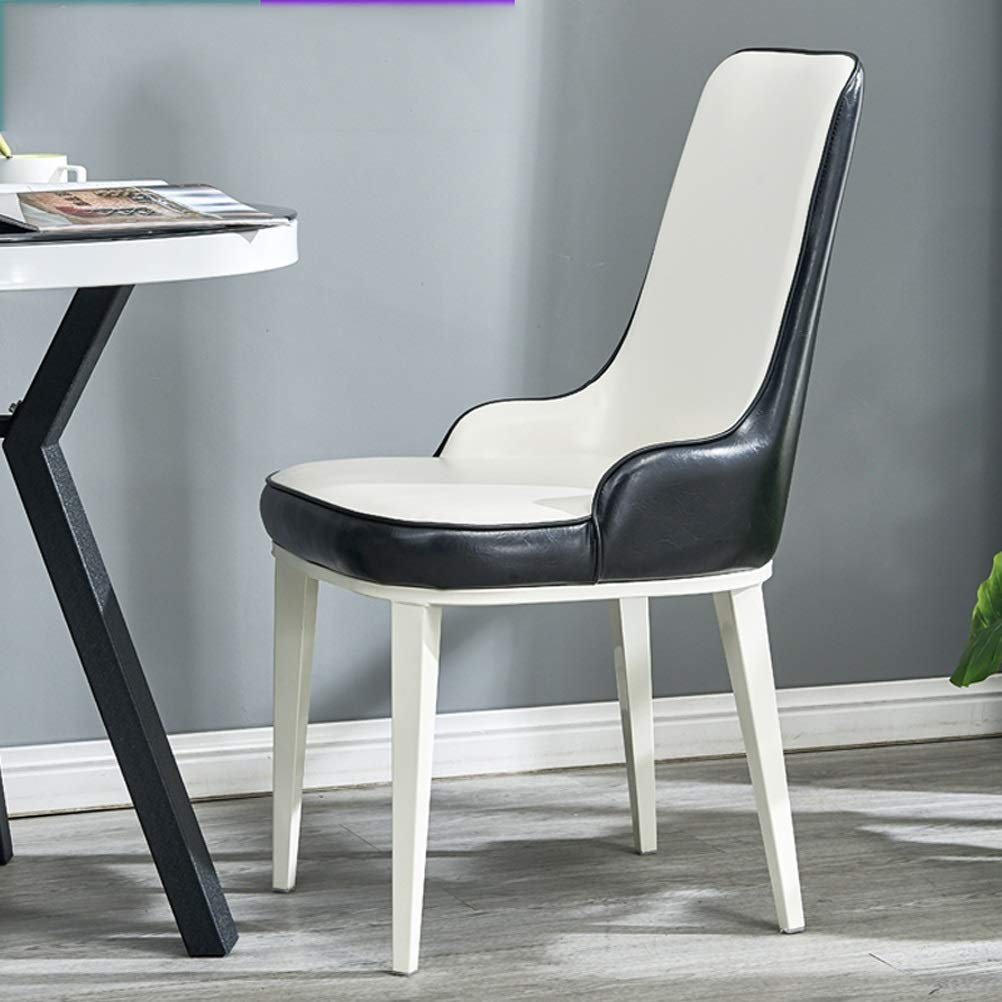 Lrzs furniture dining chair nordic modern minimalist home dining table and chairs to discuss coffee shop hotel dining chair creative restaurant back chair