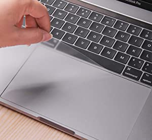 Anti- Scratch Smooth Surface Trackpad Protector Cover Skin with Clear Film Touch Pad Protector for MacBook Pro 16 Inch Laptop Ultra Clear (3 Pack)
