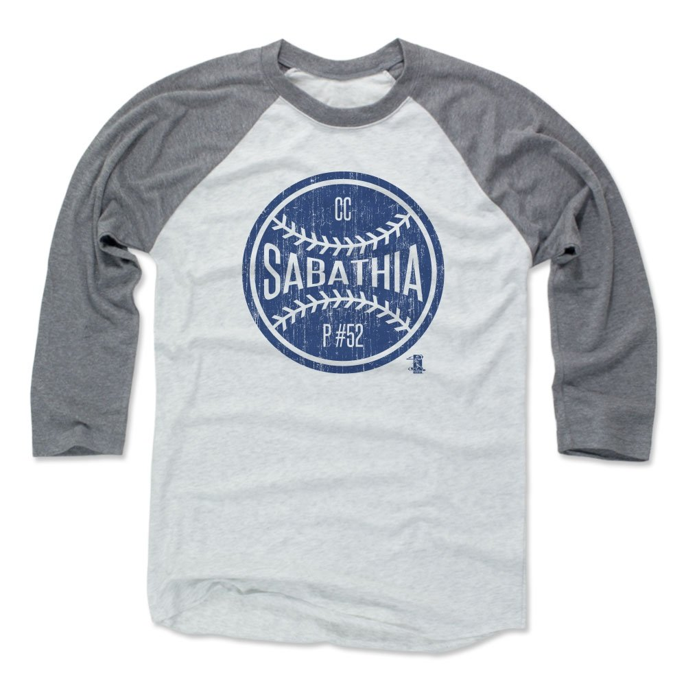 CCサバシアボールB New YorkメンズベースボールTシャツ B01N5BHQGP XXX-Large|Heather Gray / Ash Heather Gray / Ash XXX-Large