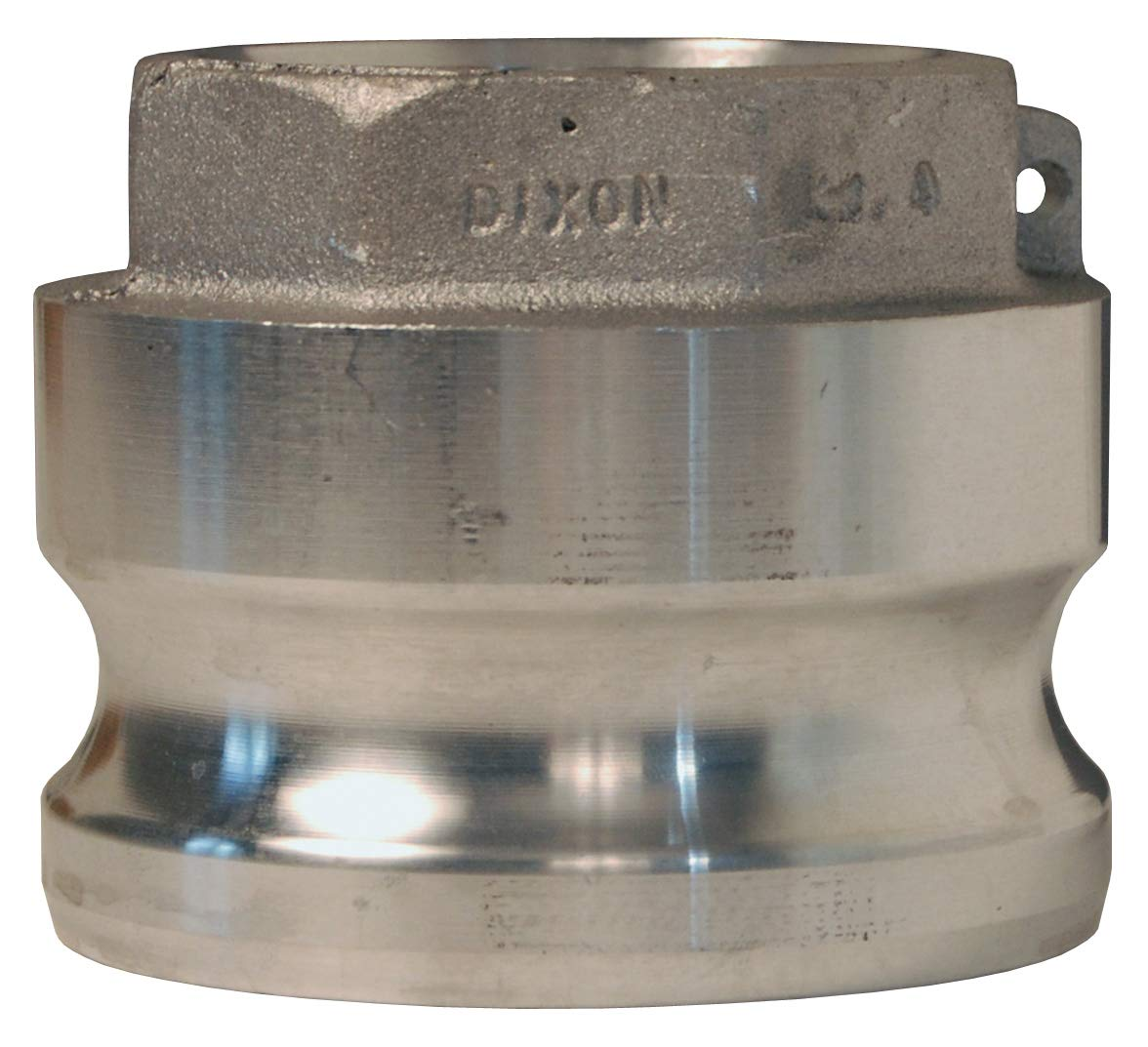 Dixon Valve 3020-A-AL Aluminum 356T6 Type A Cam and Groove Fitting, Reducing Coupler, 3'' Male Adapter x 2'' NPT Female