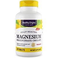 Healthy Origins Magnesium Bisglycinate Chelate, 120 Count
