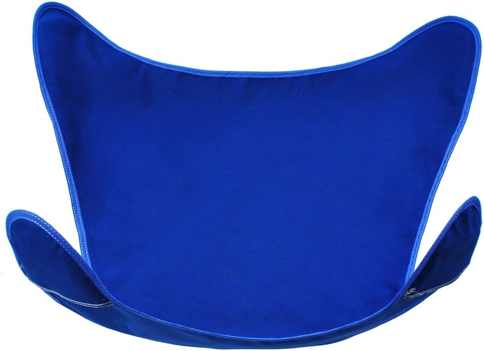 """35"""" Blue Duck Cotton Replacement Cover for Retro Butterfly Outdoor Patio Chair"""
