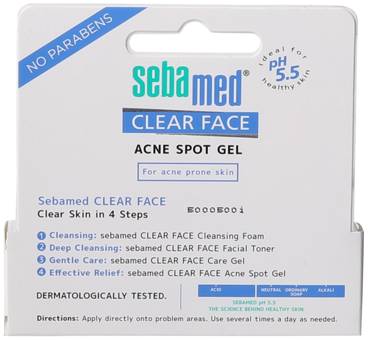 Buy Sebamed Clear Face Spot Gel 034 Fluid Ounce Online At Low Antibacterial Cleansing Foam 150ml Prices In India