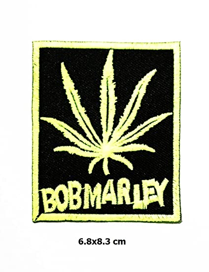 Música de BOB MARLEY REGGAE Ska parche Metal Punk Hip Hop banda Logo