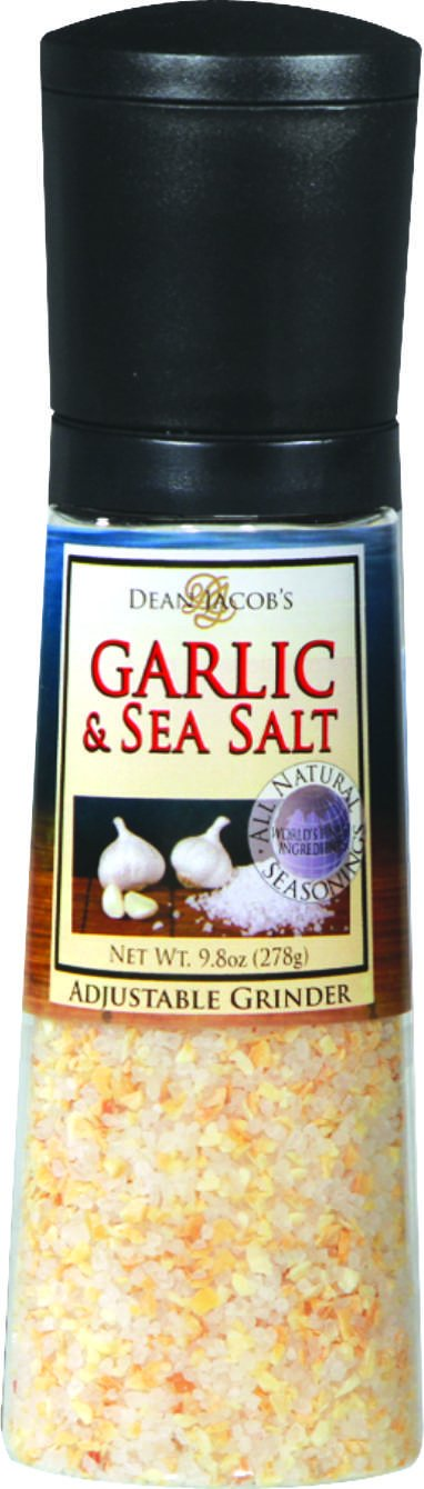Dean Jacob's Garlic and Sea Salt Jumbo Grinder