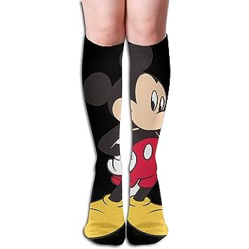 14c403c37b0 Amazon.com  JINUNNU Knee High Tube Socks Mickey Mouse Cute Compression Socks  for Girl Women  Home   Kitchen