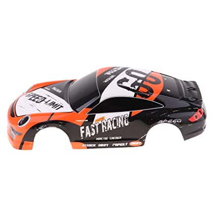 Amazon com: Flameer RC Car Body Shell Cover Finished Body Shell