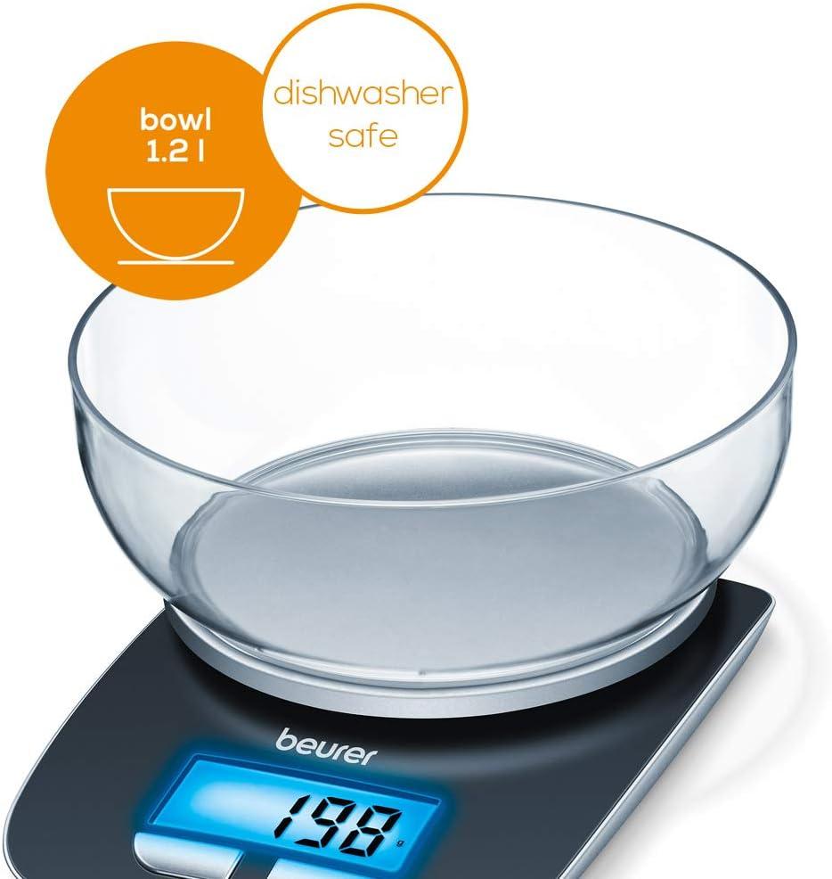 Beurer KS 19 Bilancia da cucina ex dispositivo in esclusiva digitale bilancia finemente bilancio Bilancia