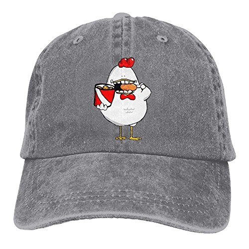 Cowgirl Cap for Hat Sport Chicken Fried Cowboy Men Skull Denim DEFFWB Women Hats X0BwSqX