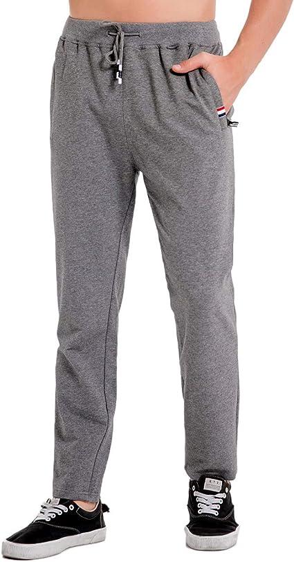 Chy - Pantalones de chándal para Hombre, con Bolsillo Lateral con ...