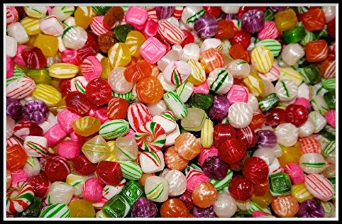 Washburn Old Fashioned Hard Christmas Candy Mix (1 Lb - 16 Oz) made in New England
