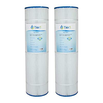 Tier1 Hayward C4000 Filter, Filbur FC-1270, Pleatco PA100N, Unicel C-7487 Comparable Replacement Pool Filter Cartridge (2-Pack): Kitchen & Dining