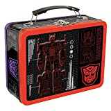 Vandor Transformers Large Tin Tote, 3.5 x 7.5 x 9 Inches (41370)