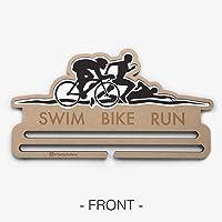 Swim Bike Run - Medallero - PortaMedallas - Triatlón - Percha para medallas