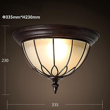 XQY Lámparas de Techo Decorativas para el hogar, Bar ...