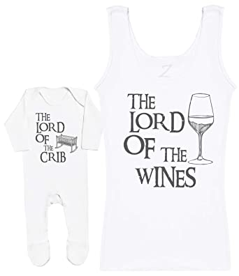 Baby Gift Zarlivia Clothing The Lord of The Milk Baby Vest Sleeveless