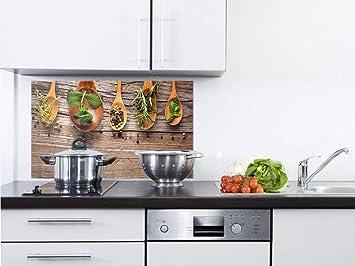 GRAZDesign Wandpaneele Küche Holzoptik - Fliesenspiegel Küche ...