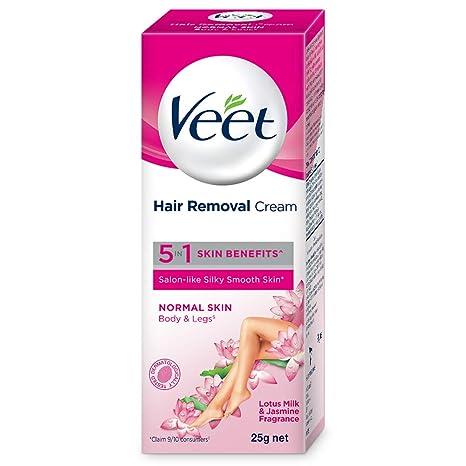 Buy Veet Silk Fresh Hair Removal Cream Normal Skin 25 G
