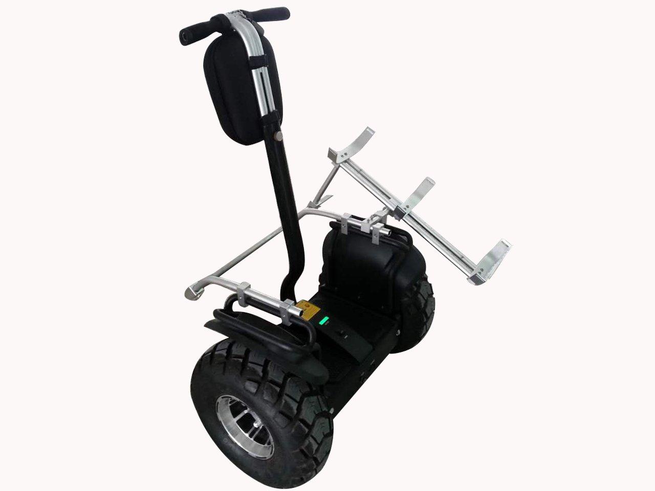 TEN-HIGH Q7 528wh Off-Road Intelligent Outdoor Selbstausgleich Elektrofahrzeug mit 1 Golf-Racks