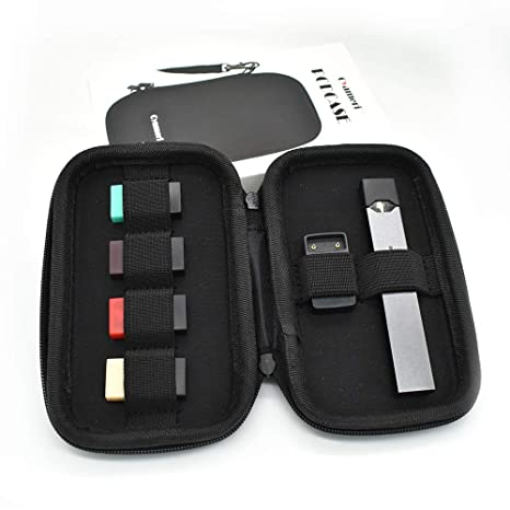 Cyameri Podcase V2 Travel Carrying Case for Juul Kit, Vape Pods and Charger, Pax Era, Pod System Vape Kit Protective EVA Hard Shell Organizer Bag