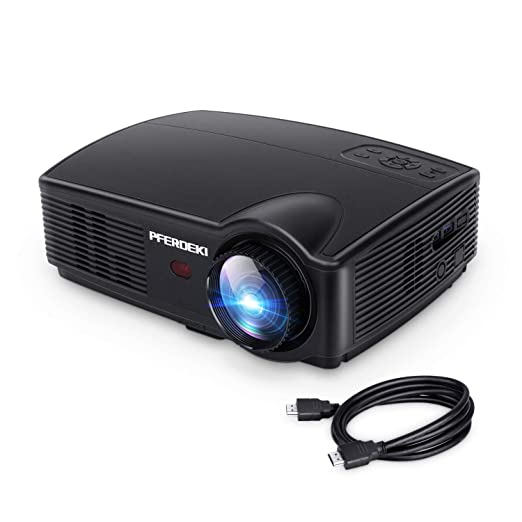 Amazon.com: Proyector de negocios, PFERDEKI 4500LM LED 1080p ...