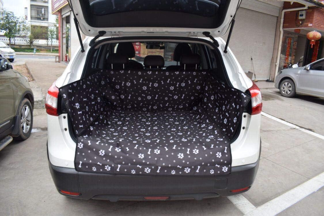 Suitbest Kofferraumschutz Hunde Auto Kofferraummatte Hundedecke Mit Seitenschutz Robuste Schutzmatte Kofferraumdecke Vor Kratzern Schmutz Und Tierhaare Schwarz Haustier