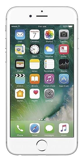 Amazon com: Apple iPhone 6S, Locked to Sprint, 64GB - Silver