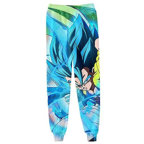 Pantalones De Chándal Casuales 3D Impresión Dragon Ball Super ...