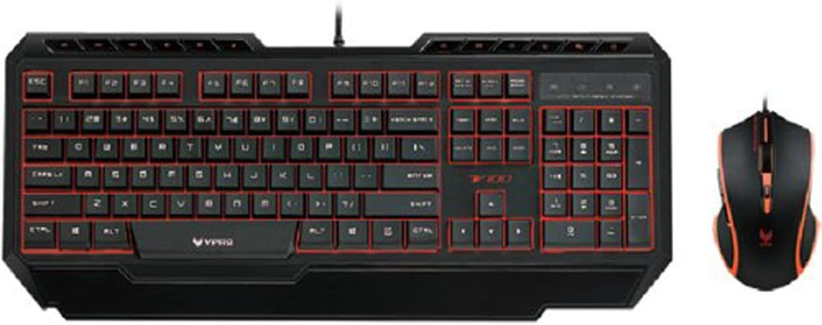 A869RGB Simulated Mechanical Keyboard/_v100 Single Hand Film Keyboard Mouse Set V100