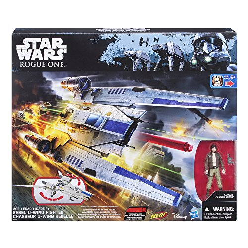 Star Wars: Rogue One Rebel U-Wing Fighter - http://coolthings.us