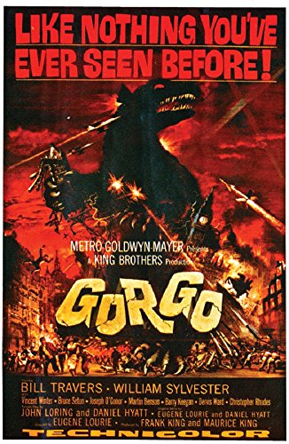 Paper Magic Gorgo Movie Poster Cling