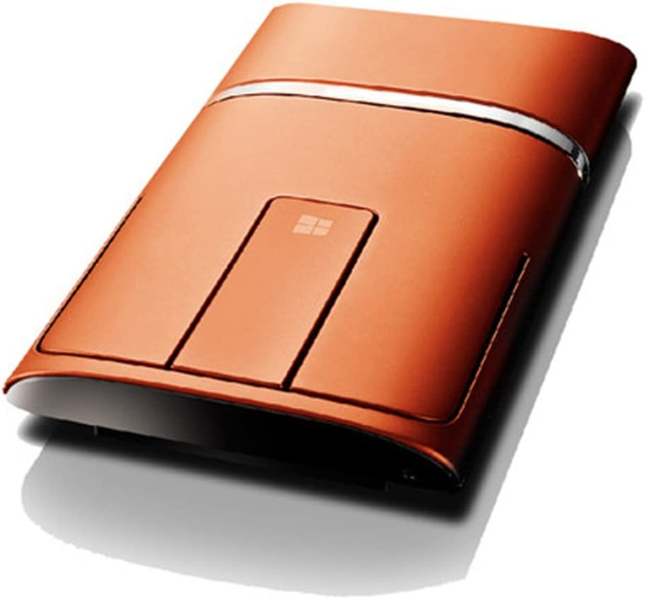 Lenovo N700 Dual Touch Slim 2.4G Wireless Mouse Bluetooth 4.0(Orange)