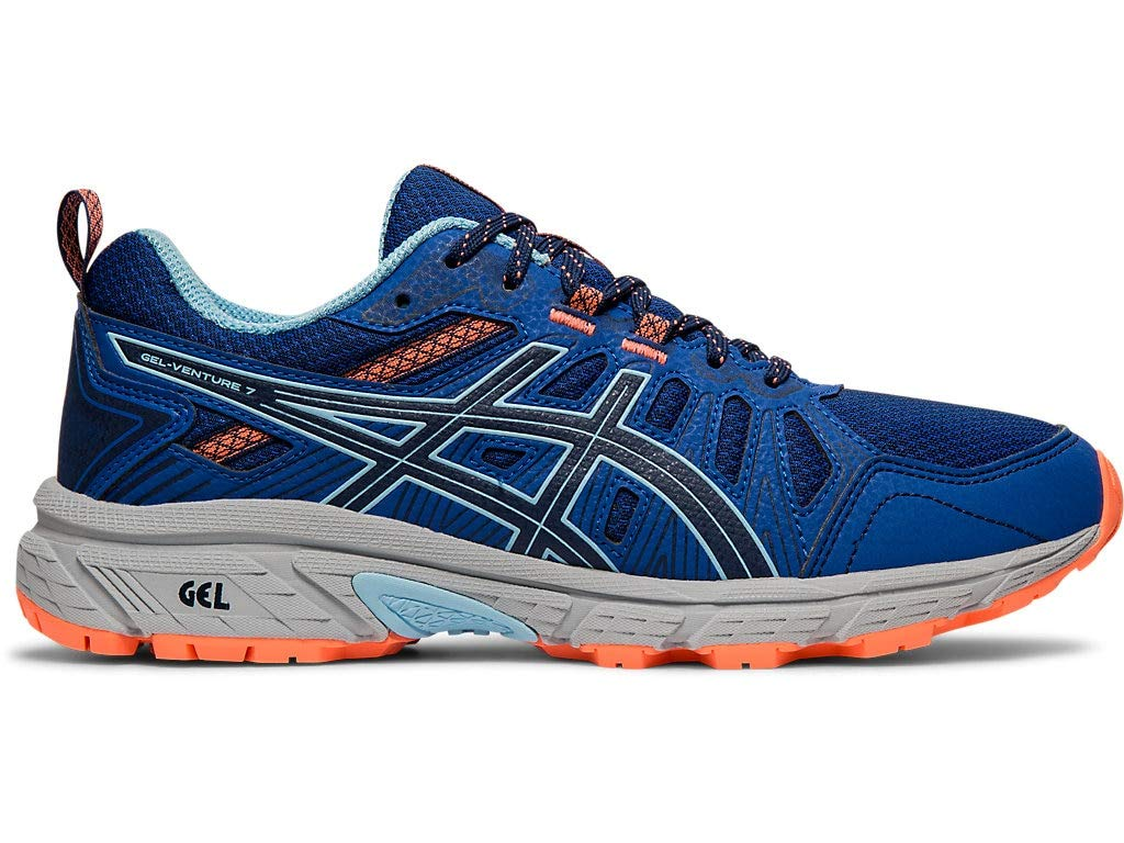 ASICS Women's Gel-Venture 7 Running Shoes, 9M, Blue Expanse/Heritage Blue by ASICS
