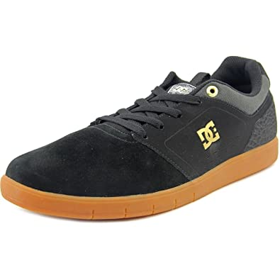 DC Men's Cole Signature Skate Shoe, Grey/Black/Black, ...
