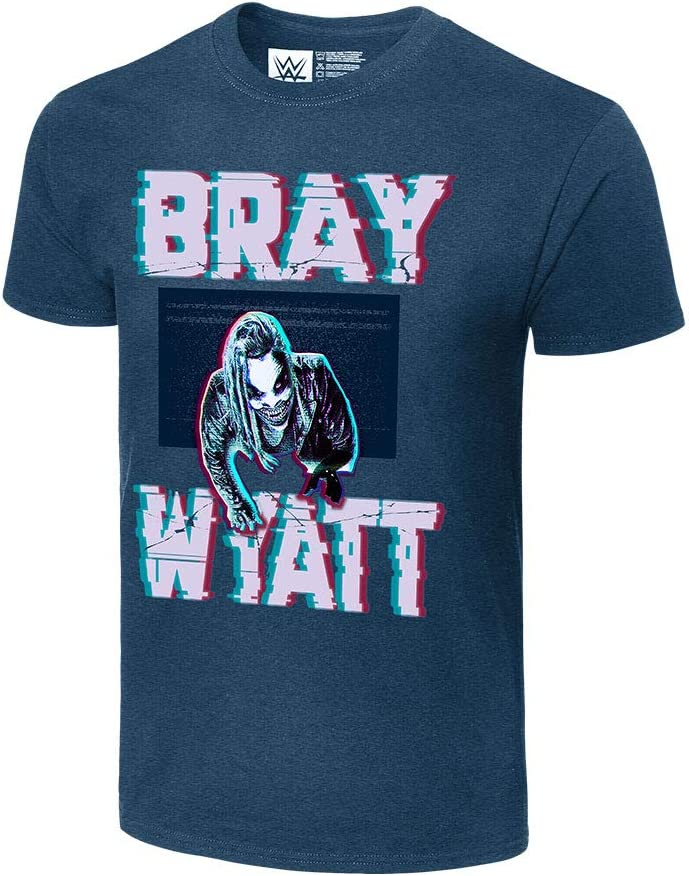 WWE Bray Wyatt Static Authentic T-Shirt