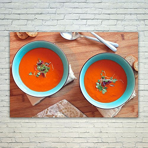 Westlake Art - Poster Print Wall Art - Tomato Soup - Modern Picture Photography Home Decor Office Birthday Gift - Unframed - 18x12in (Tomato Bisque Ingredients)
