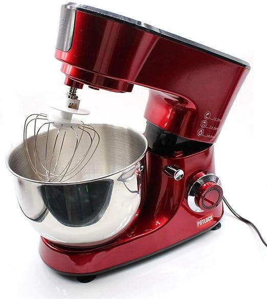 RANZIX - Robot de cocina (1000 W, 5 L, amasadora, amasadora ...