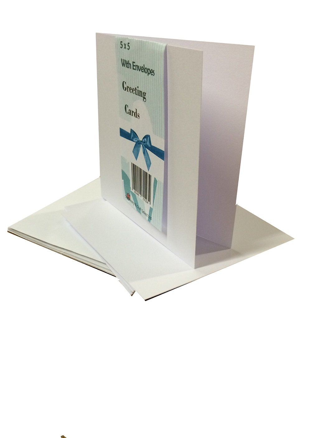 House of Card & Paper Straight Edged Card and Envelop_P 5 x 5 Inch
