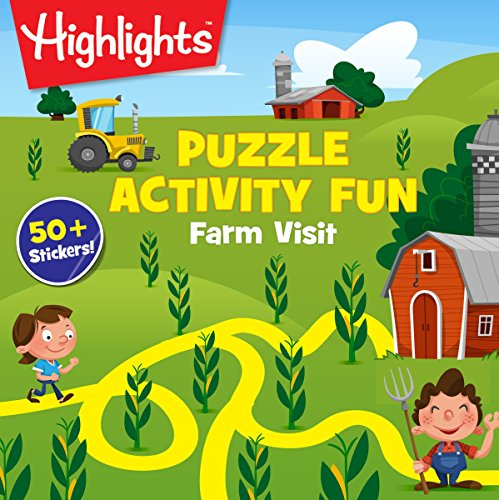 Farm Visit Puzzles (Highlights Puzzle Activity Fun)