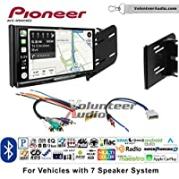 Volunteer Audio Pioneer AVIC-W8400NEX Double Din Radio Install Kit with Navigation, Apple CarPlay and Android Auto Fits 2010-2012 Nissan Cube (7 Speaker Factory Amplified systems)