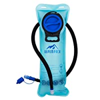 Water Bladder Leak Proof BPA Free Hydration Bladder 2L, 2.5L, 3L For Bicycling Hiking Camping Backpack/Gear, Quick Release Insulated Tube, Non Toxic Easy Clean Wide Opening …