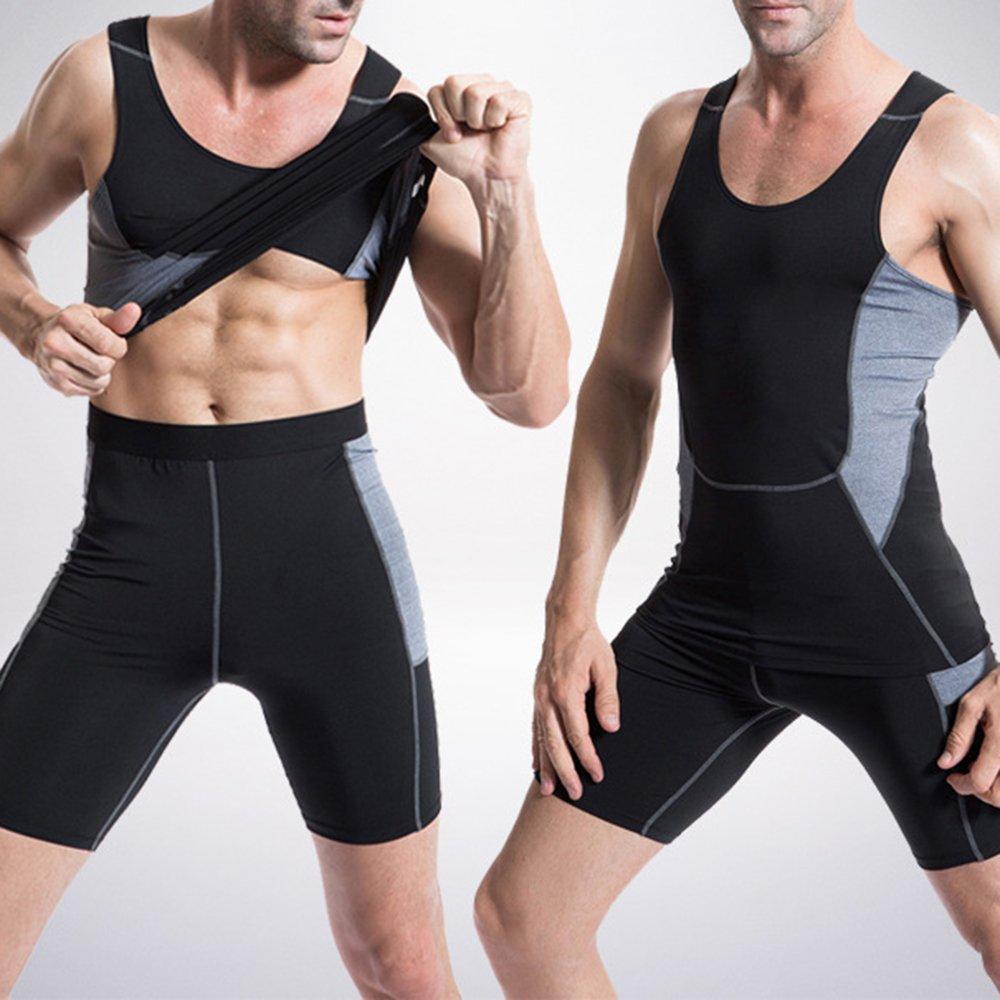 Bliefescher Laufhose Herren Sport kurz Leggings Schnell Trocken Yoga Workout Laufen Fu/ßball Fitness Strumpfhose