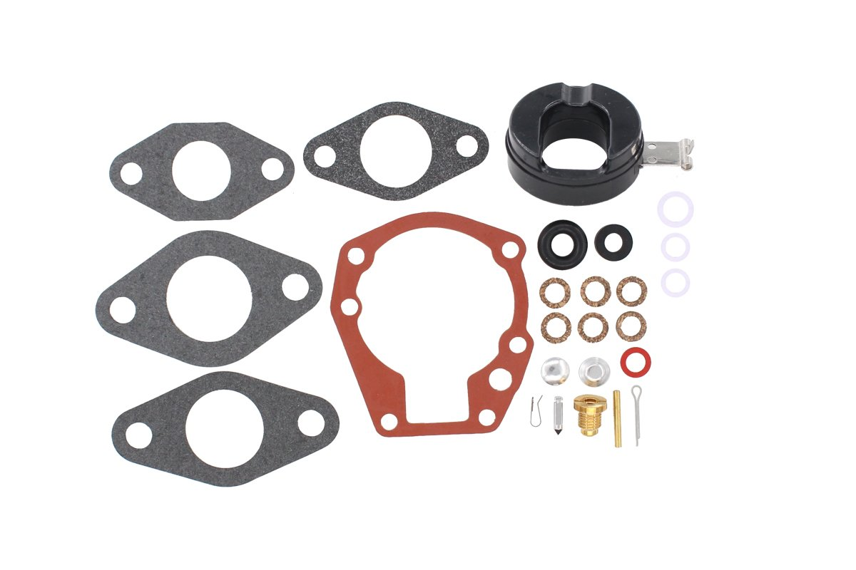 Carburetor Rebuild Carb Repair Kit for Johnson/Evinrude 1.5HP 2HP 3HP 5 5.5HP 6HP 7.5HP 10HP 15HP 18 HP BRP Outboard Replaces 439071 0439071 OMC 382045 382046 382047 382049 383052 383067 398532