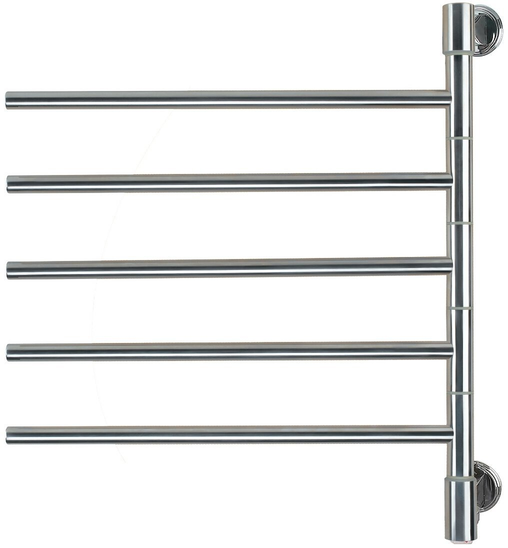 Amba J-D005 P Swivel Jack 22-Inch x 25-Inch Towel Warmer, Polished