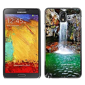 For Samsung Note 3 N9000 - Waterfall Spring /Caja protectora de pl???¡¯????stico duro de la cubierta Dise???¡¯???¡Ào Slim Fit/ - Super Marley Shop -