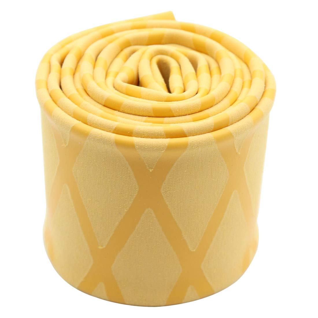 Lime2018 Heat Shrink Sleeve Wrap Tubing X-Tube Wrap Tubing for Fishing Rod Handle Cork with Non Slip Waterproof and Insulation 1 Meter. Diameter: 45 mm, Yellow (Dia 45mm Yellow)