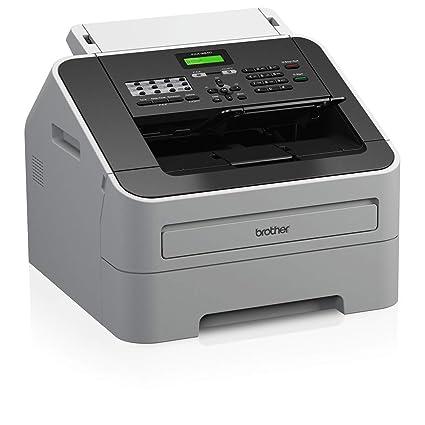 Brother FAX2840G1 - Fax láser Monocromo A4, Color Gris ...