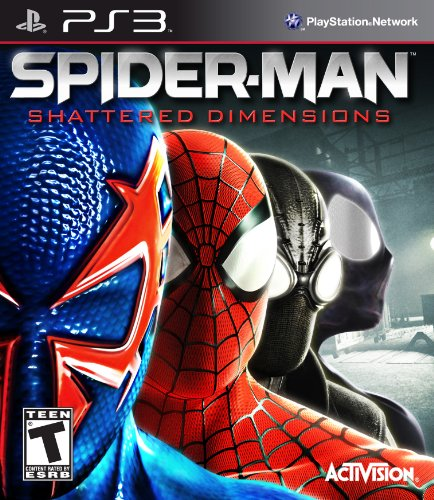 The Amazing Spider Man Ps3 Costumes (Spider-Man: Shattered Dimensions - Playstation 3)